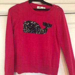 Vineyard vines pink sweater